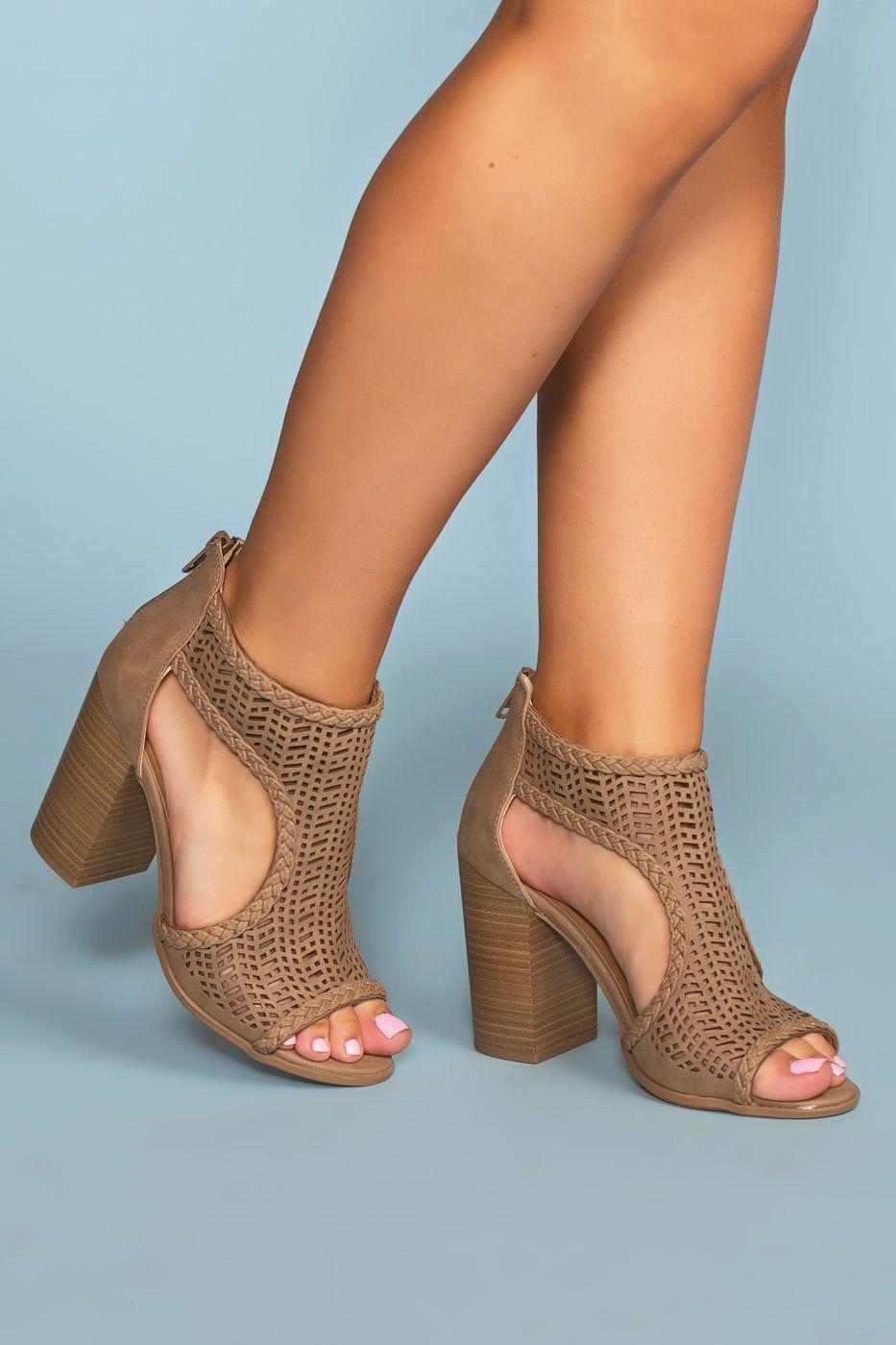731ab787e6d0 Lennox Block Heels - Taupe in 2019