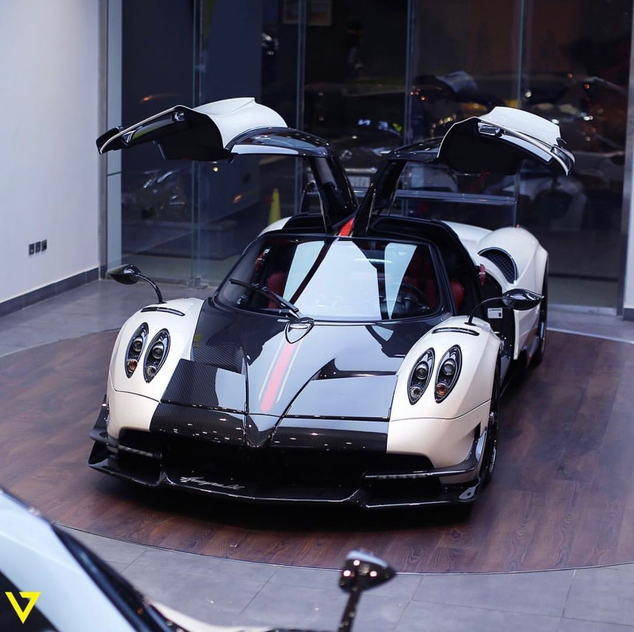 Pagani huayra bc painted in bianco w exposed carbon fiber and red pagani huayra bc painted in bianco w exposed carbon fiber and red gold central fandeluxe Choice Image