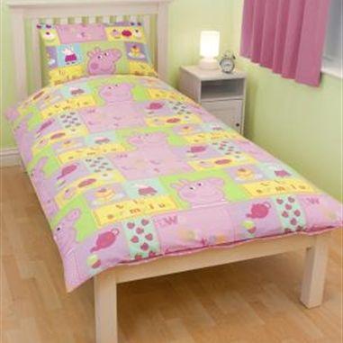 Peppa Pig Bed | YumZi | Pinterest | Pig cupcakes, Duvet sets and Duvet : peppa pig quilt cover set - Adamdwight.com