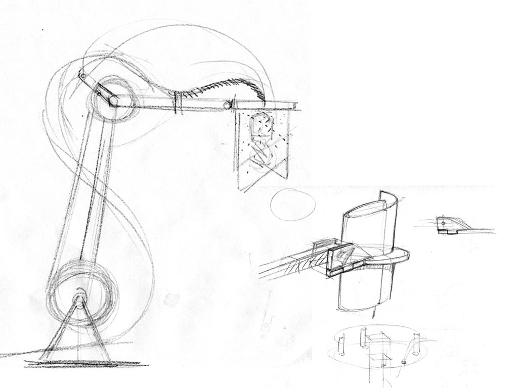 Desk Lamp Mechanism Drawing