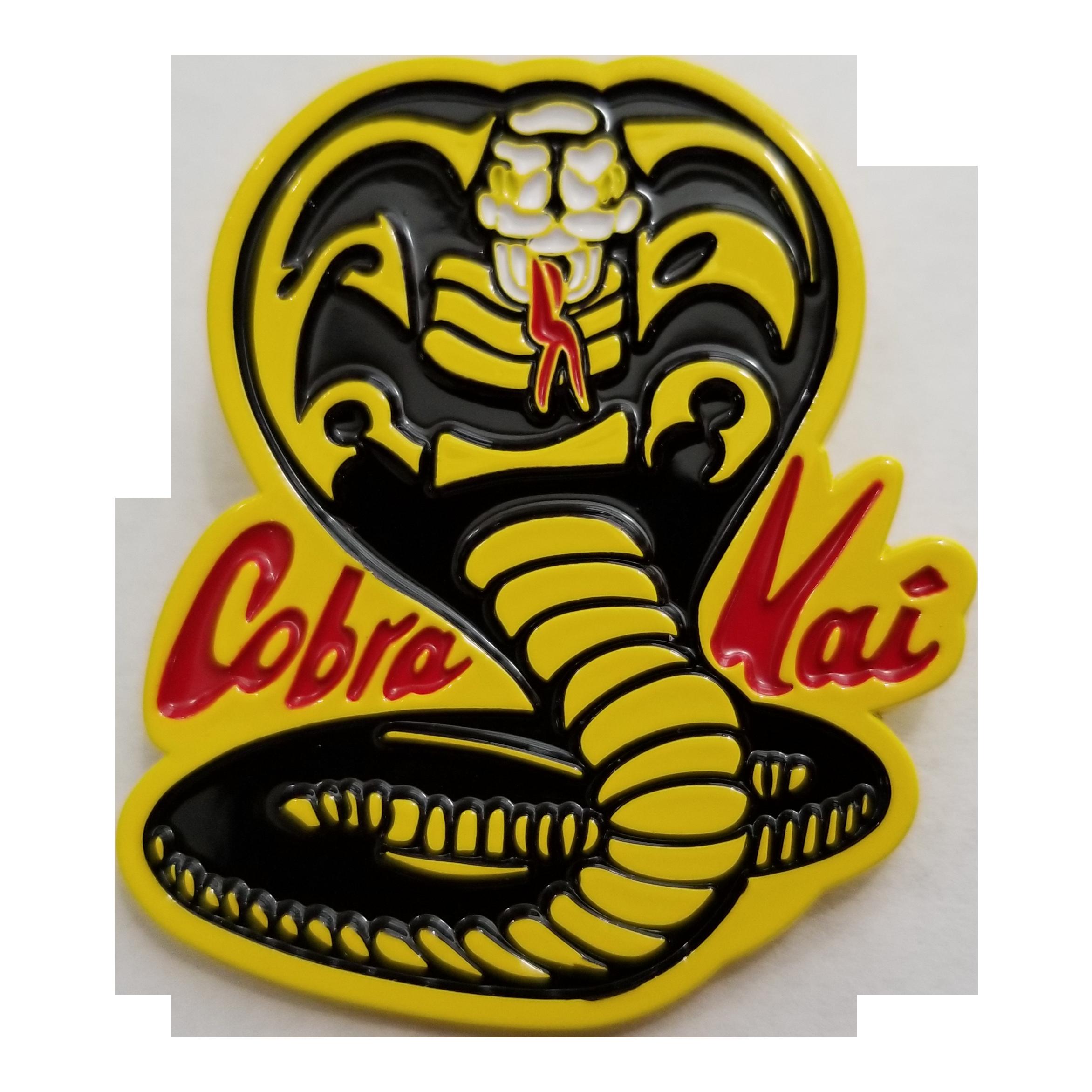 The Karate Kid Cobra Kai Logo Enamel Pin Pegatinas Pegatinas De Vinilo Disenos Para Camisetas