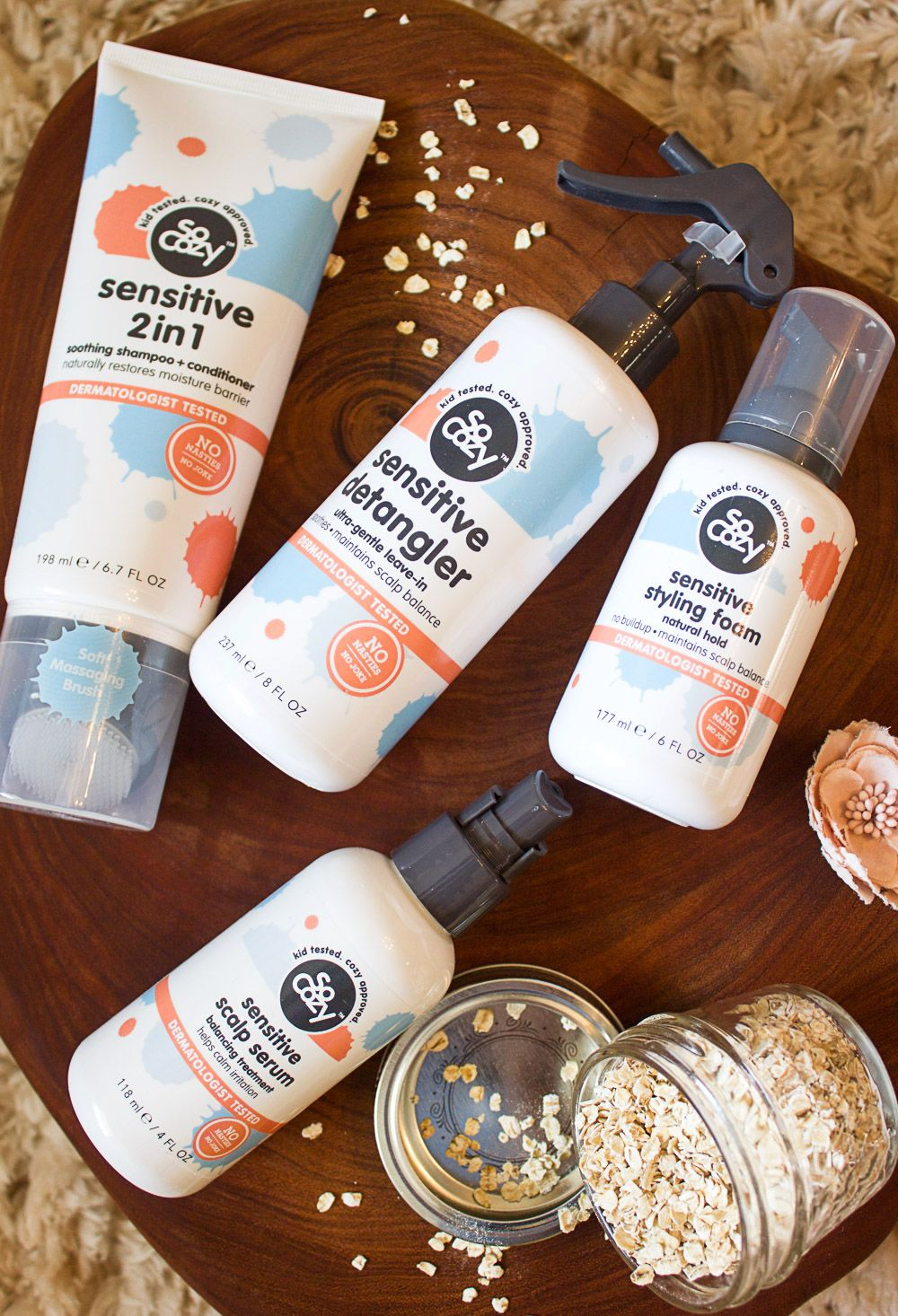 SoCozy Kids HUSH Hair Care Collection + Ingredients to
