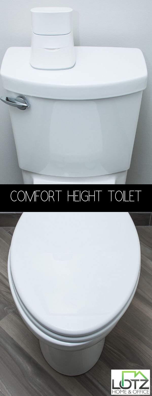 Could There Really Be A Difference When Sitting Down On Your Comfort Height Toilet Just Bathroom Remodeling Contractors Bathrooms Remodel Powder Room Remodel