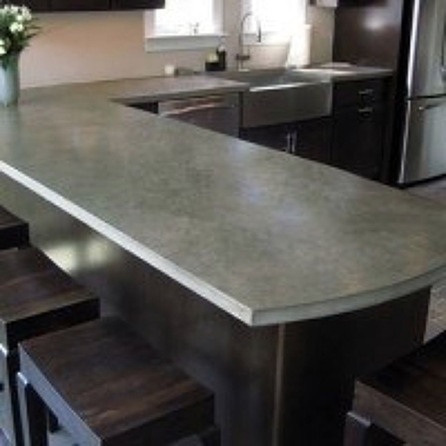 Concrete Countertops Over Laminate Ideas