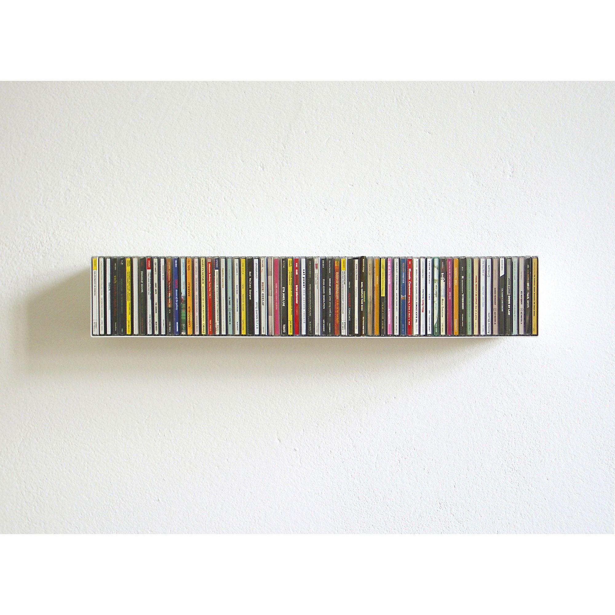 Cd Storage Skandium Compact Disc Shelf B By Linea 1 Cds  # Idee Rangement Cd