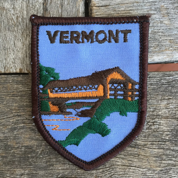 Vermont Patch Iron on