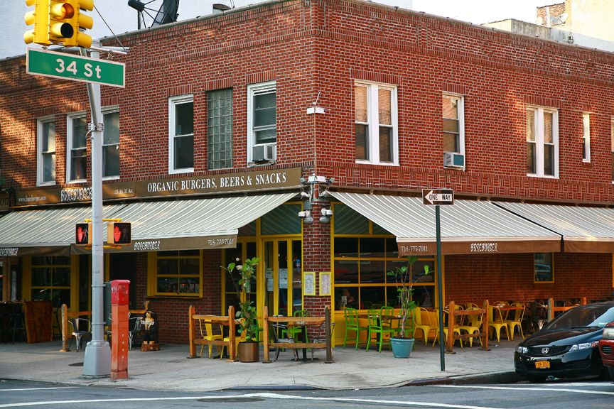 Organic All Natural Burgers Snacks And Shakes Astoria New York Places Favorite Places