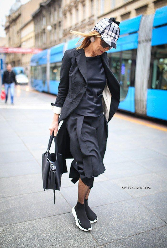 Kako đurđa Tedeschi Kombinira Tenisice Style Zagreb Street Style Women Family Fashion Fashion