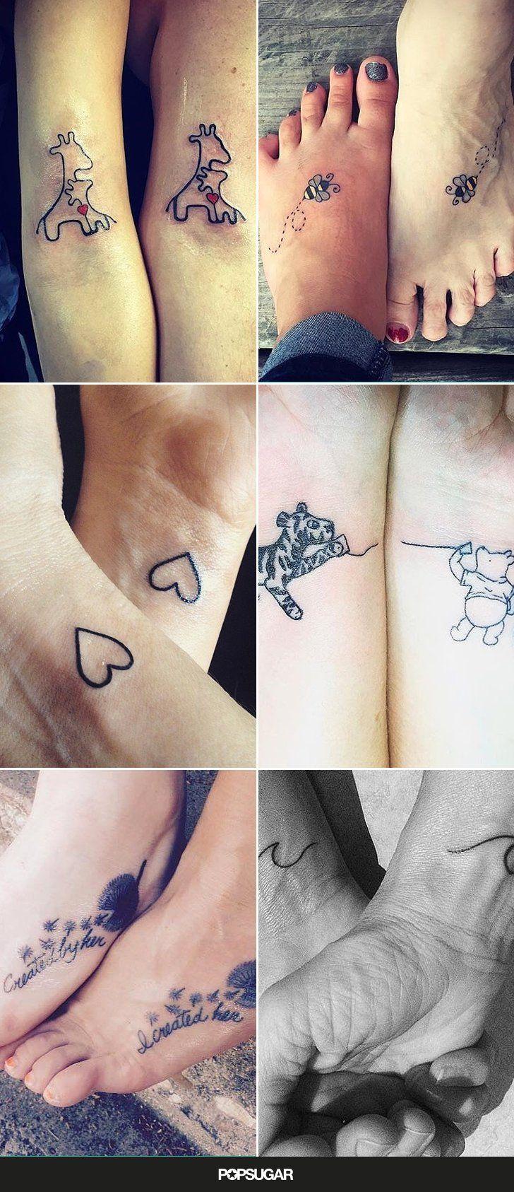 39 Tatouages Mere Fille Que Vous Allez Adorer Tatouage Pinterest