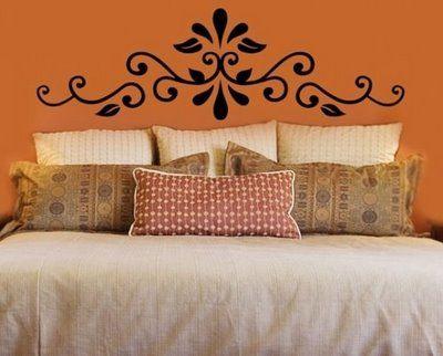 CABECERAS PINTADAS PAINTED HEADBOARD by dormitoriosblogspotcom