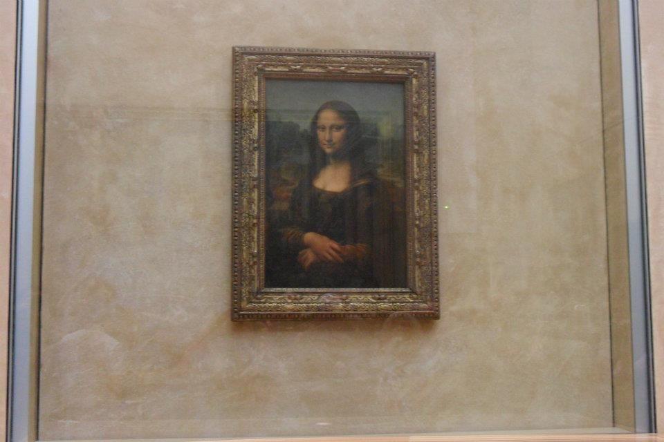 Mona Lisa, Leonardo da Vinci - Museu do Louvre (Paris)