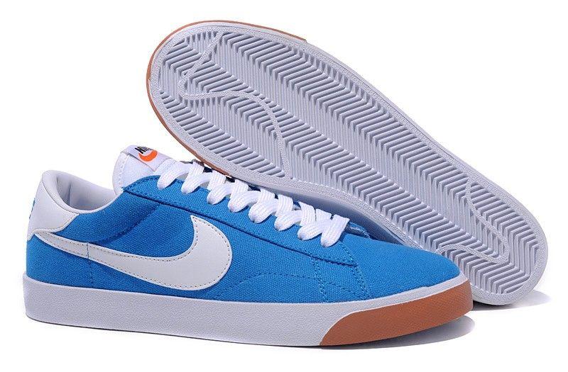 La tienda No es Caro Nike Blazer Low Suede Vintage para Hombre azul blanco  white oNBtI8