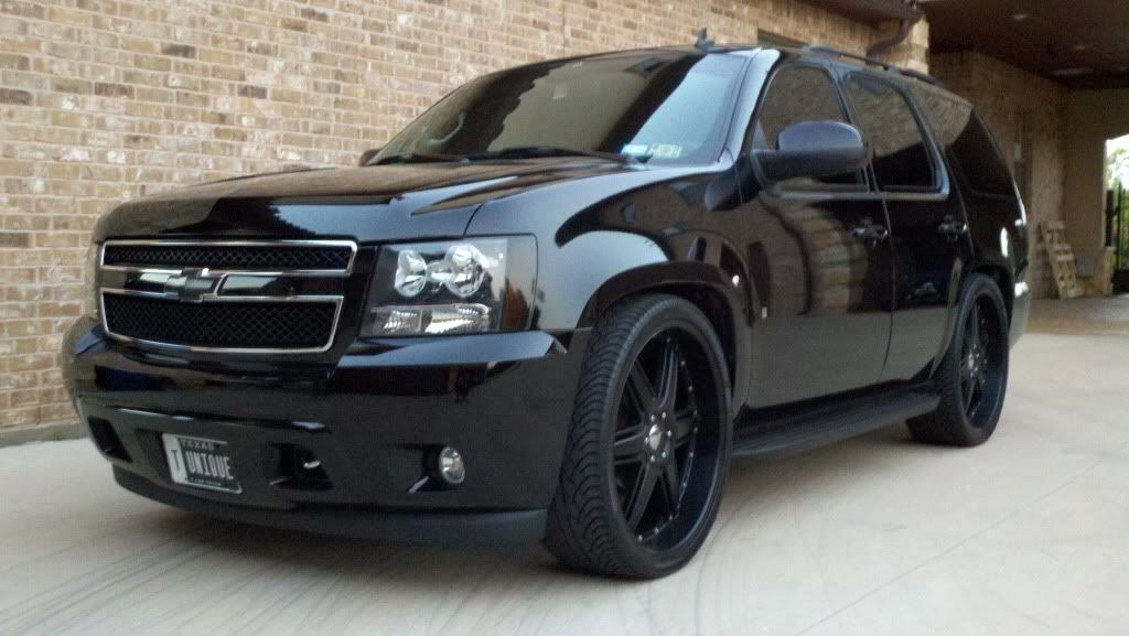 I Want To Black Out All M Chrome Chevy Tahoe Chevy Trucks Chevy