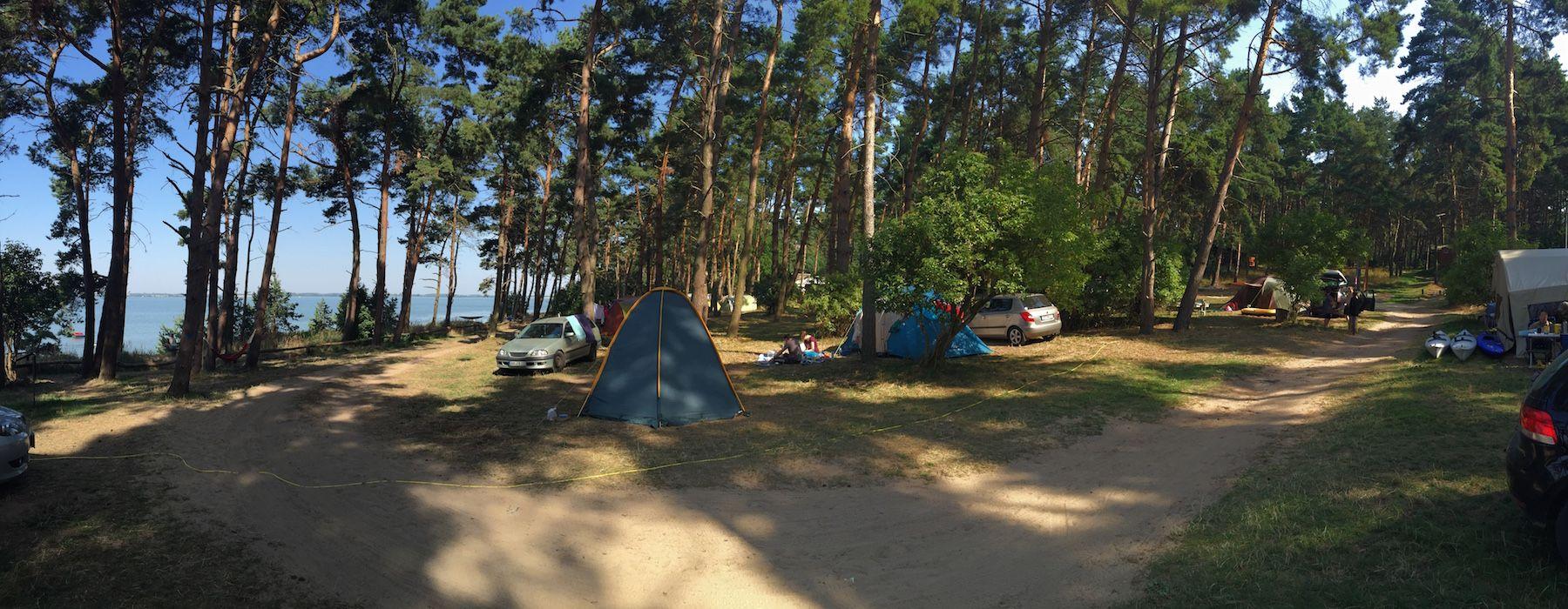 NaturCampingUsedom Der Campingplatz direkt am