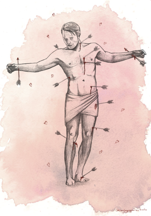 hanni-bunny-lecter:  The wound manaka Hit by an overeager Cupid.