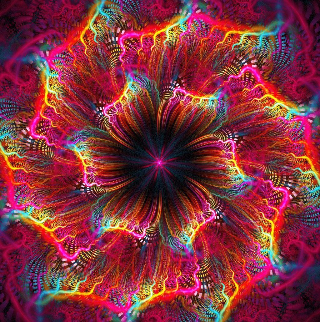 rainbow fractal cool - photo #18