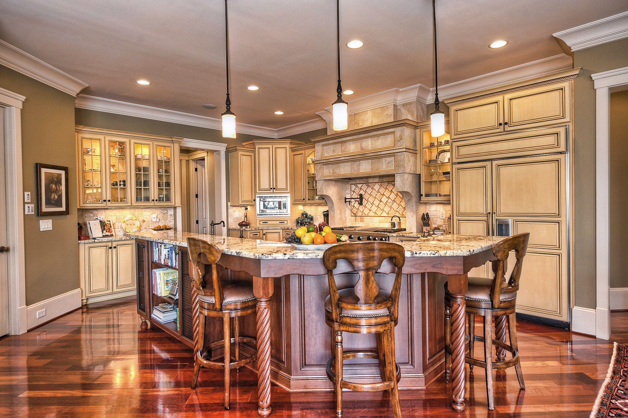 brazilian cherry wood floors in this bright kitchen lovely brazilian cherry hardwood on kitchen remodel floor id=68318