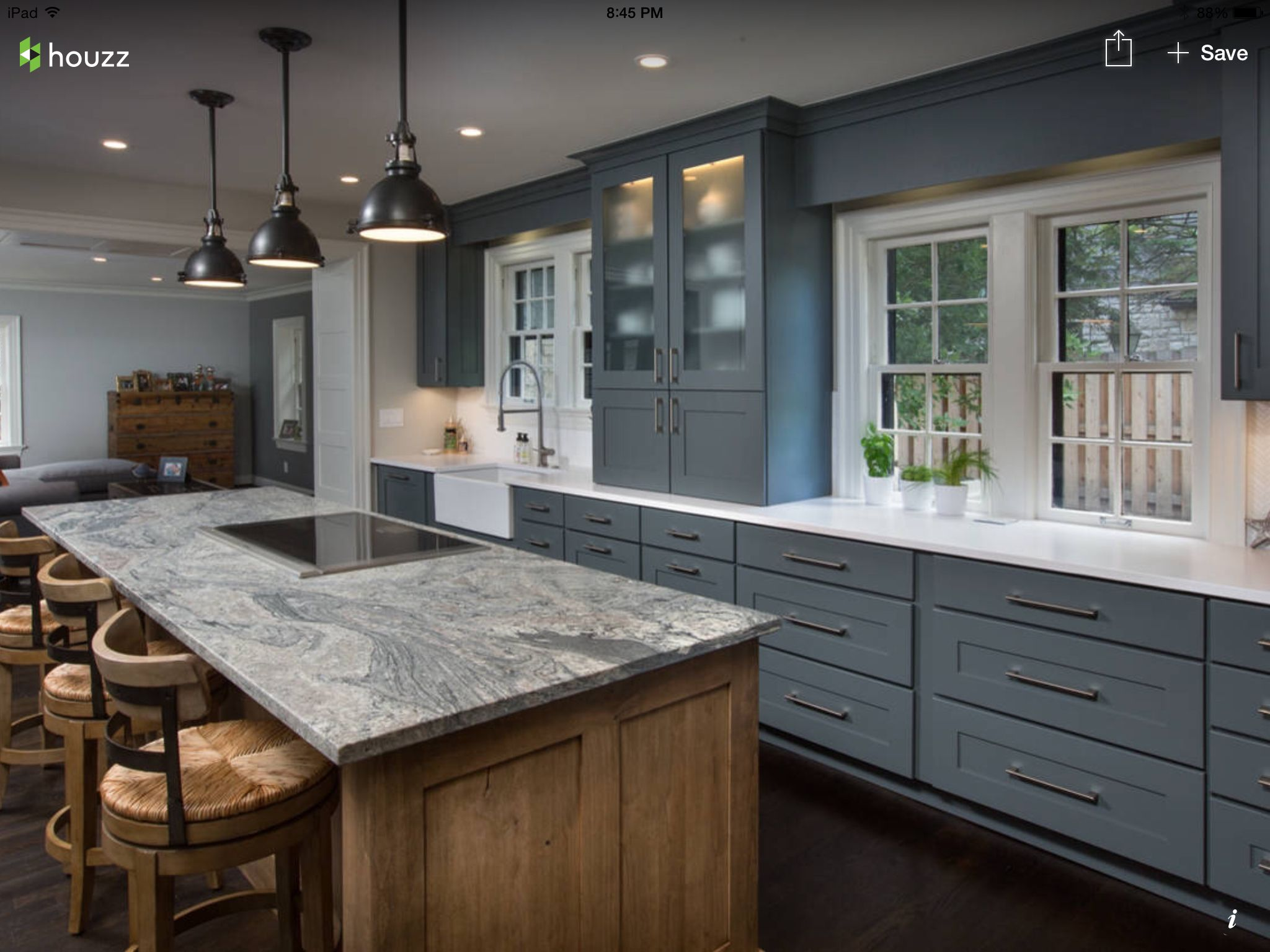 gray kitchen cabinets frosted glass cabinet counter with streak design with images home on kitchen decor grey cabinets id=18693