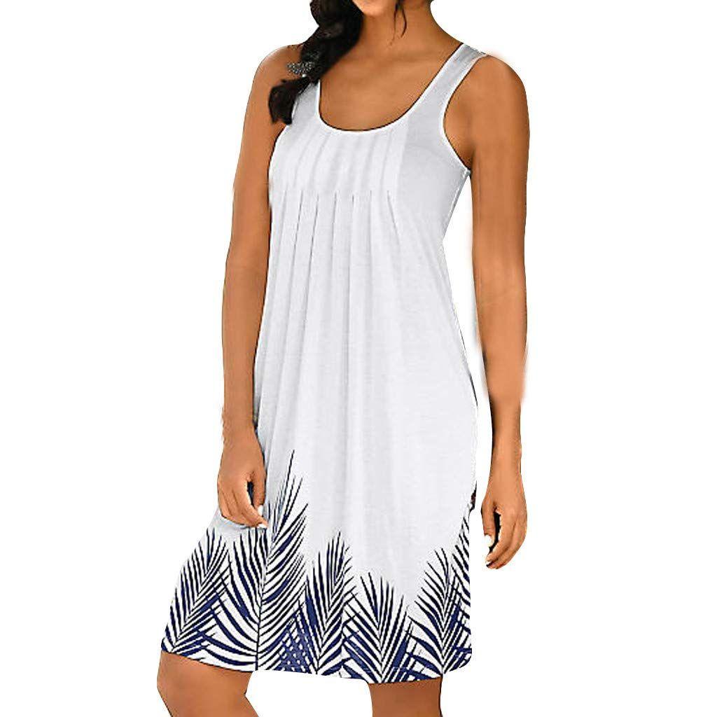 sunday sommerkleider damen kleider kurz boho strandkleid