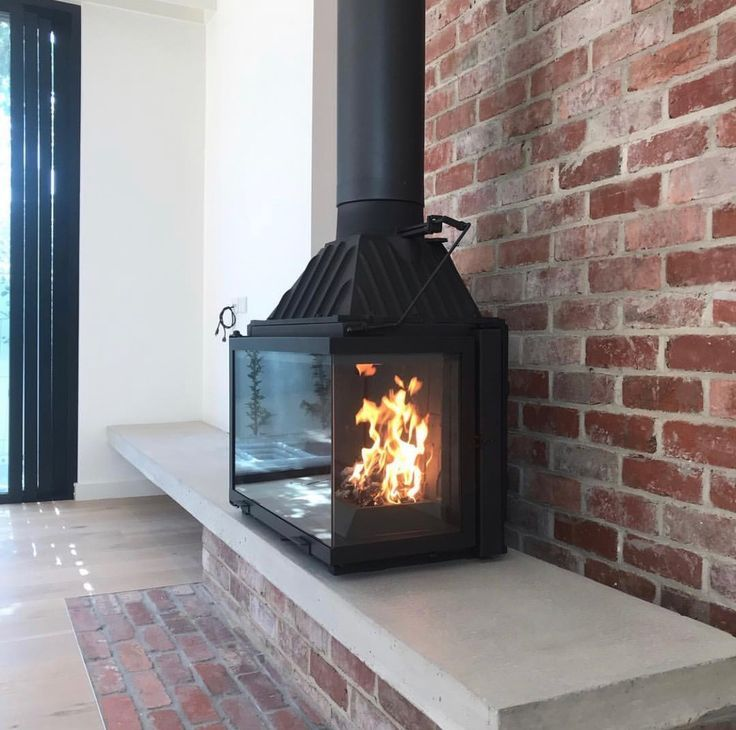 Pin By Bec Bignell On Reno Ideas In 2020 Freestanding Fireplace