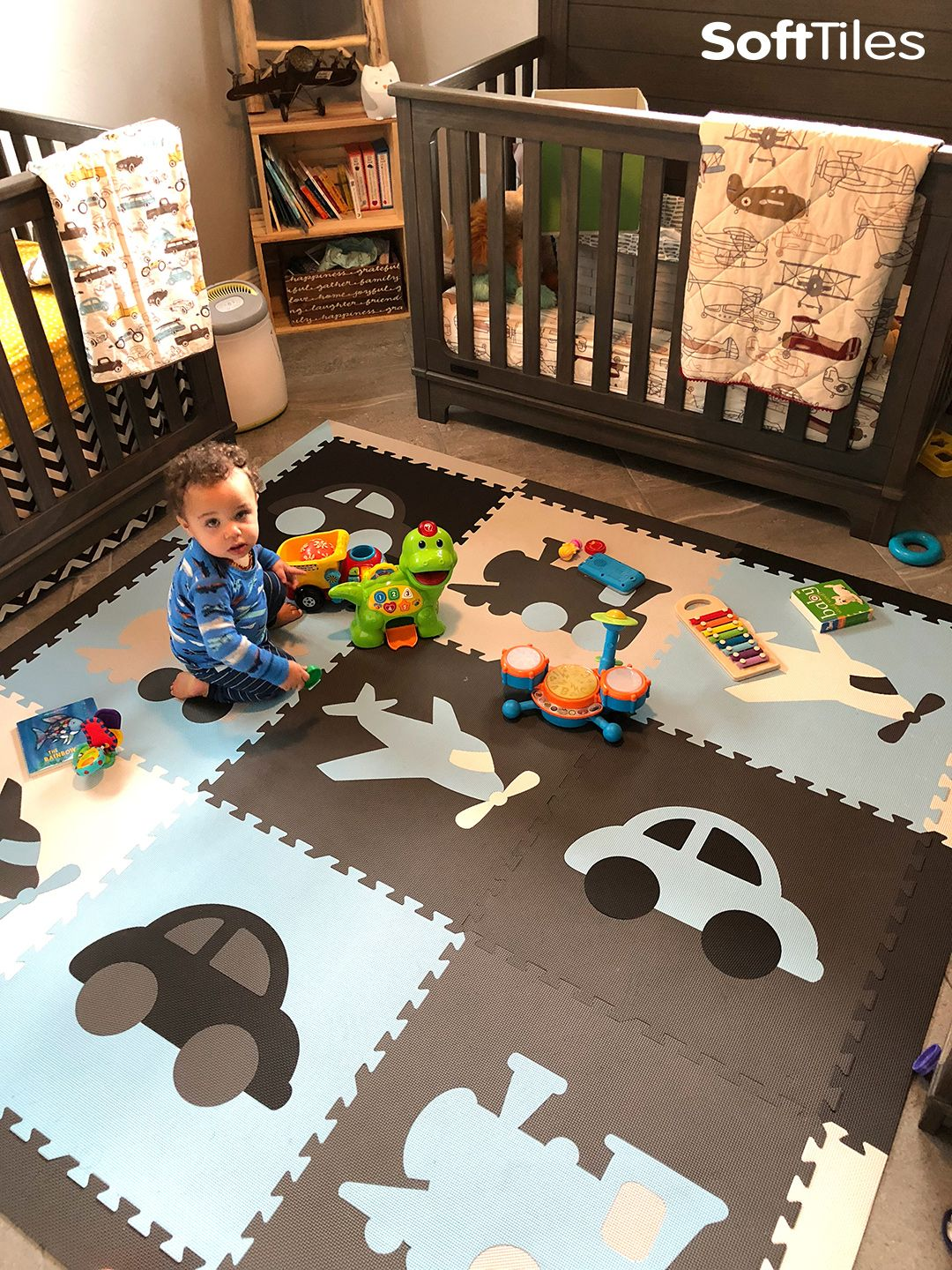 Fun Transportation Theme Play Mats For A Nursery Or Playroom These Foam Come With