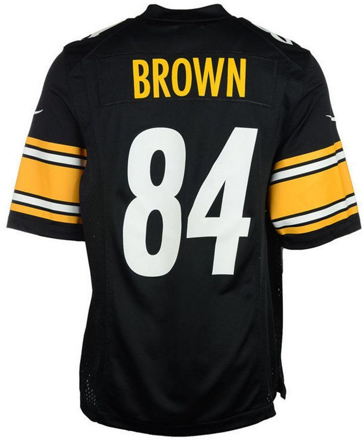 71a69f19 Nike Antonio Brown Pittsburgh Steelers Game Jersey, Toddler Boys (2T ...