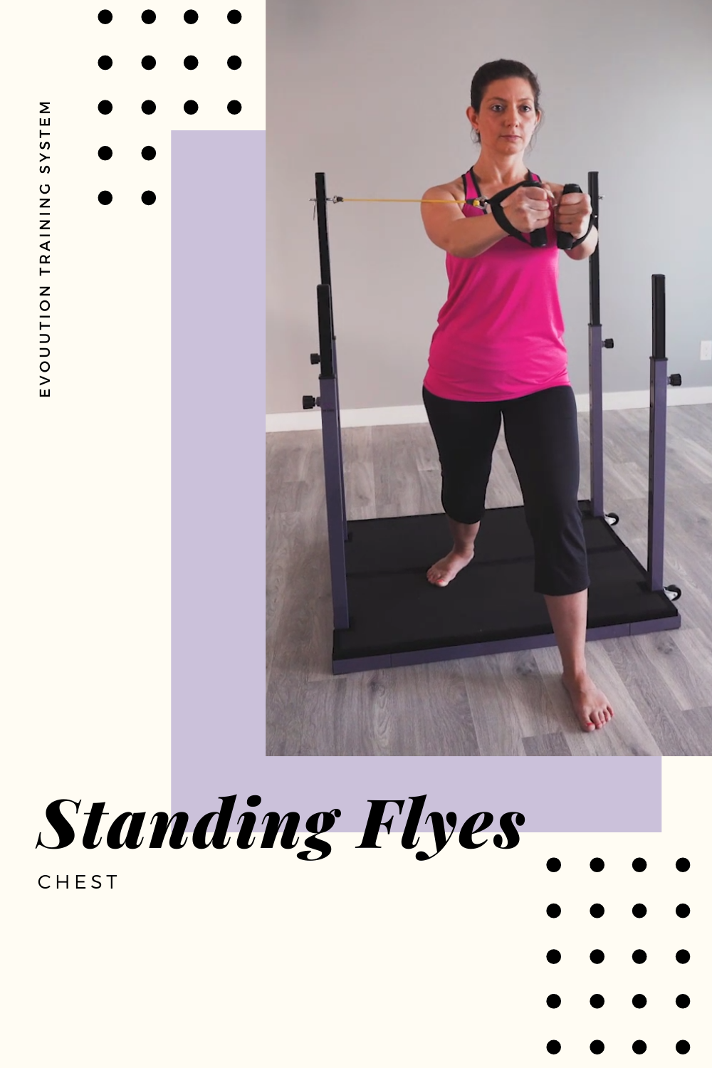 Standing Flyes Evolution Home Exercise At Home Workouts No Equipment Workout Fitness Facts