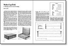 Fabulous Shaker Lap Desk Shaker Lap Desk Lap Desk Diy Desk Desk Interior Design Ideas Gresisoteloinfo