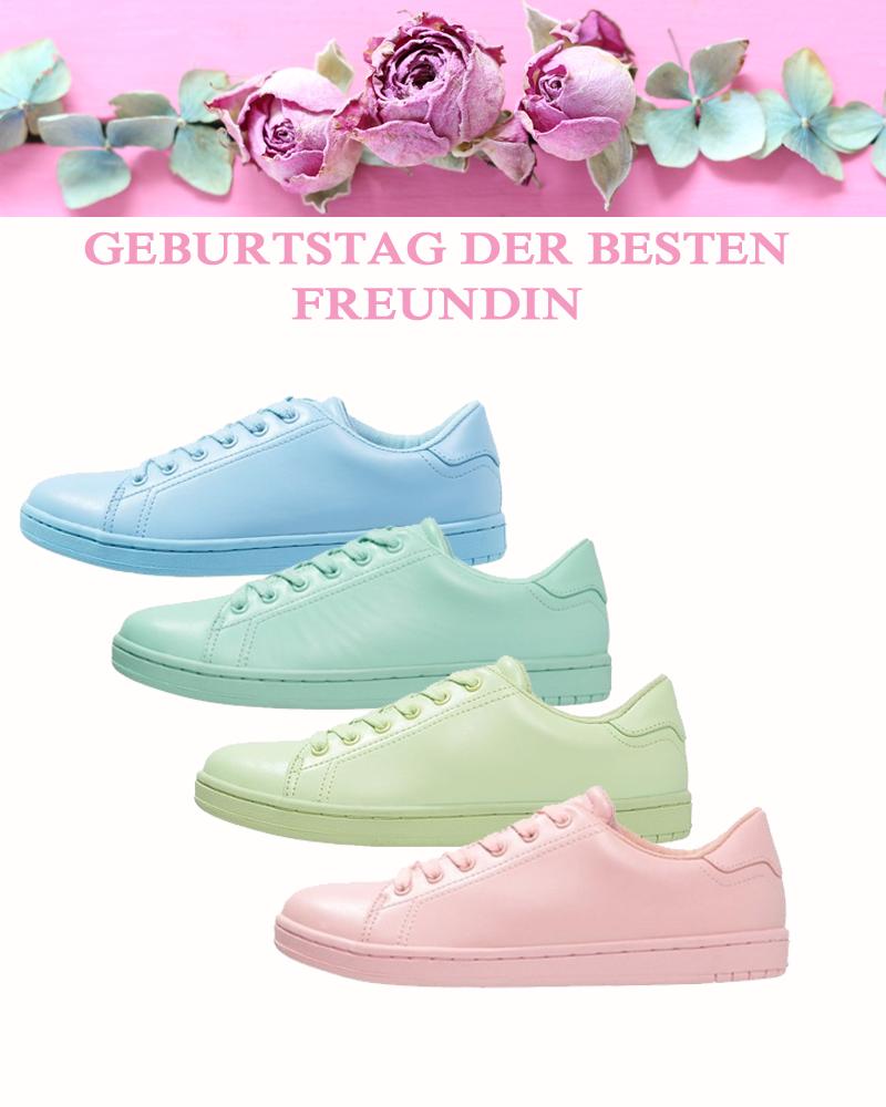 Welcher Farbton würde Deiner besten Freundin am besten gefallen? #pastell #sneakerdreams #tollefarben