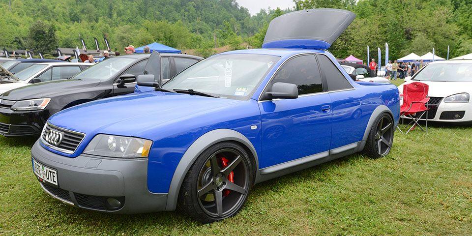 Audi Allroad Pickup At Sowo 2013 Modified Amp Custom Audi