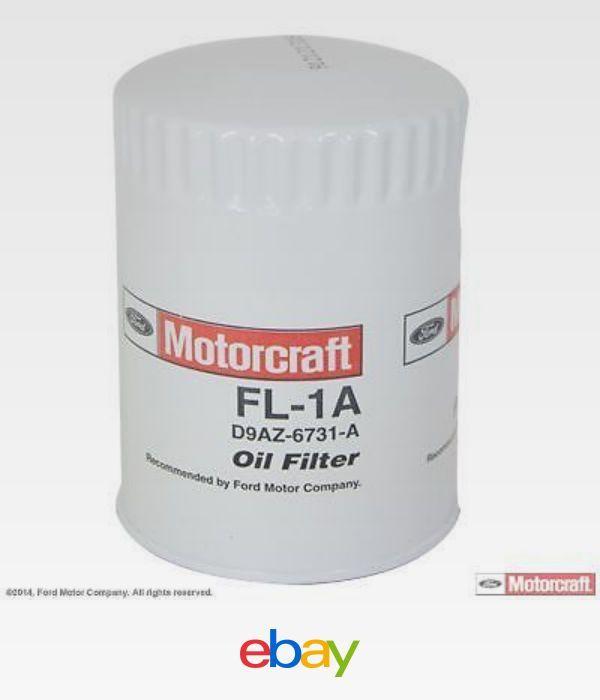 Motorcraft Oil Filter E Van F Truck F F Ford F A