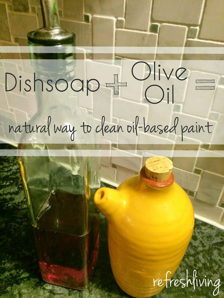 The Natural Way To Remove Oil Based Paint From Your Hands Refresh Living Oil Paint Brushes Oil Based Stain Oils