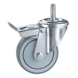 Name Medical Trolley Caster Wheel Material Pa Pp Tpr With Metral