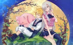 Resultado de imagem para 7 pecados capitais anime