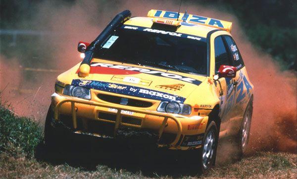 SEAT Ibiza EVO 2 - 1998 F2 Safari Rally Winners
