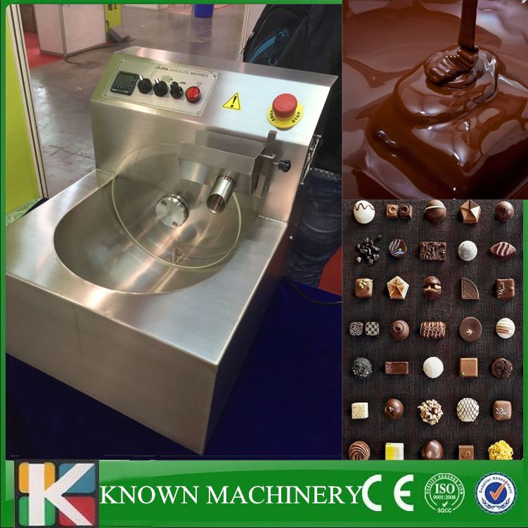 Commercial 8kg Chocolate Pouring Melting Tempering Machine