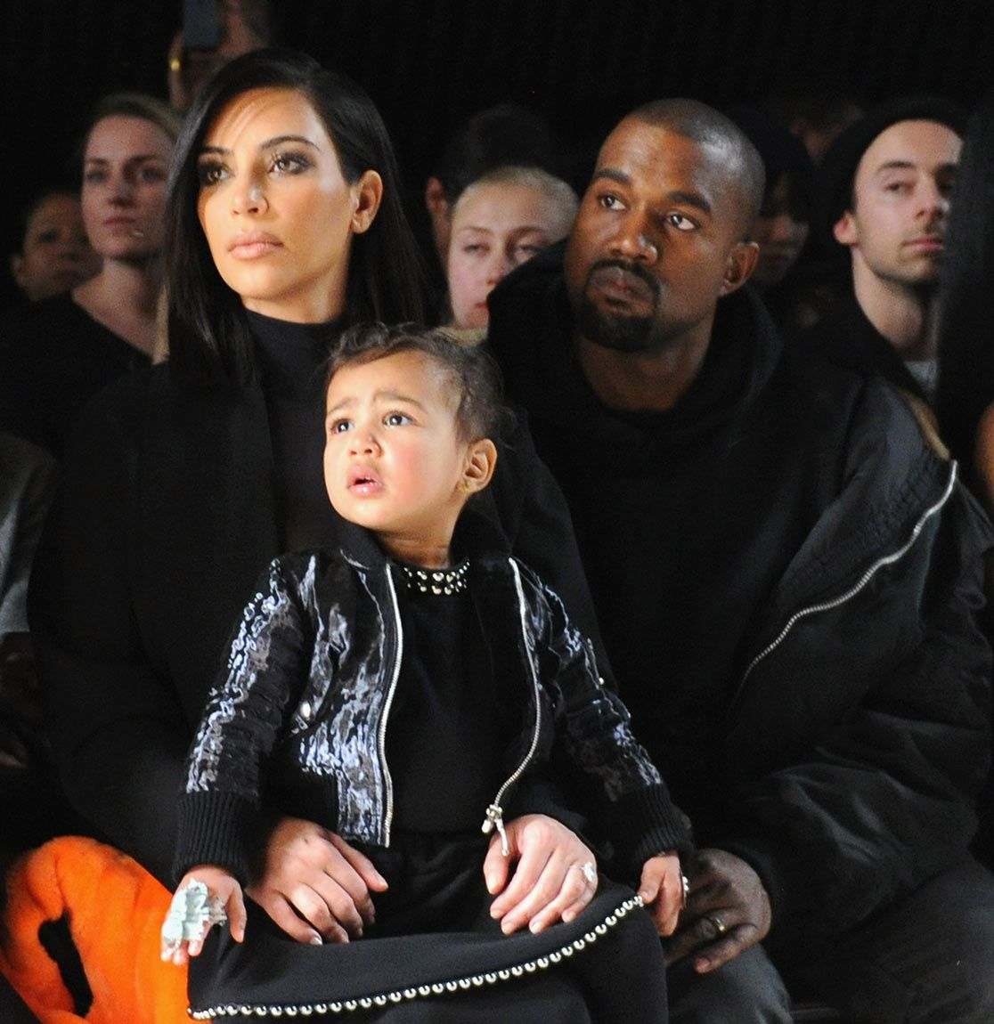 Poor Nori Kimye S Daughter Cries At Nyfw Find Out What Happened Kim Kardashian And North Kim Kardashian And Kanye Kim And Kanye