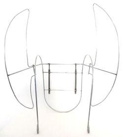 Armação/Ferragem - Costeiro para bordar Fantasias Artesanais para Bailarinas (170.0003) - Central dos Cabelos e Perucas