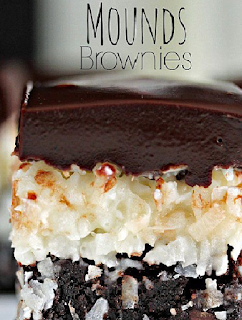 Easy Beautiful Desserts: Mounds Brownies Recipe | desert