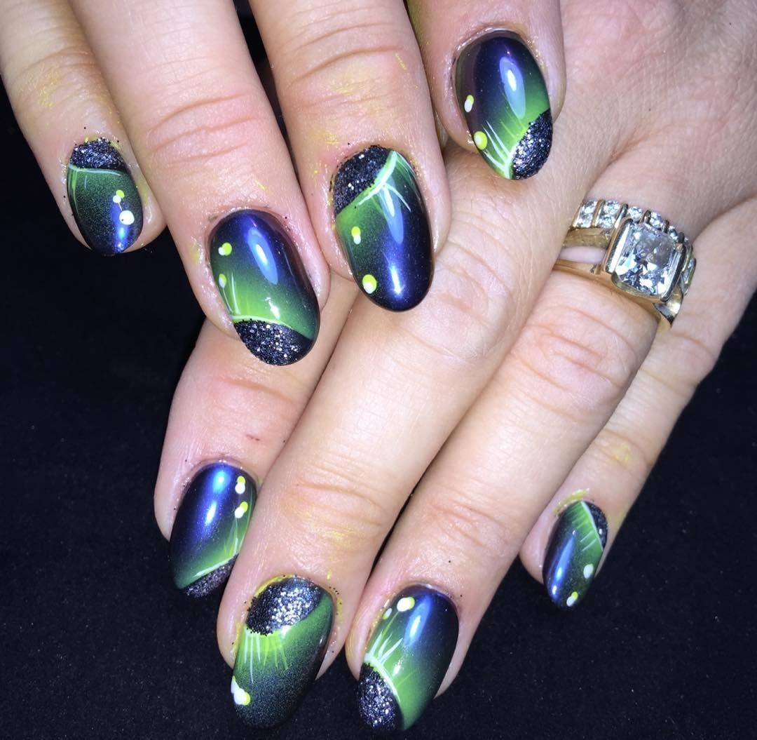 Celestial Nail Art for the Solar Eclipse - - NAILS Magazine | Out of ...