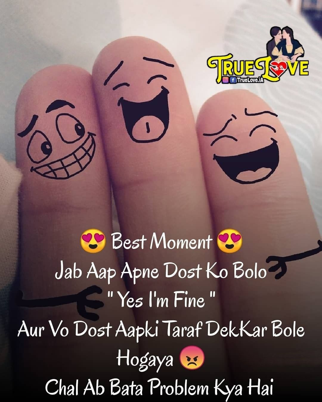 Attitude Cute Funny Friendship Quotes For Girls In Hindi