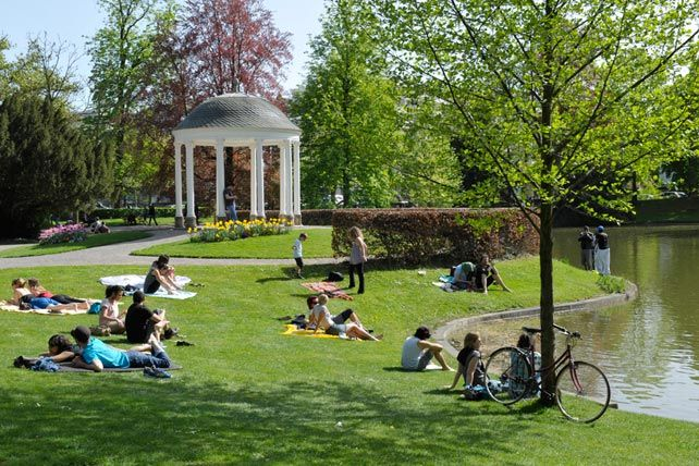 Belvédère à l'Orangerie Strasbourg