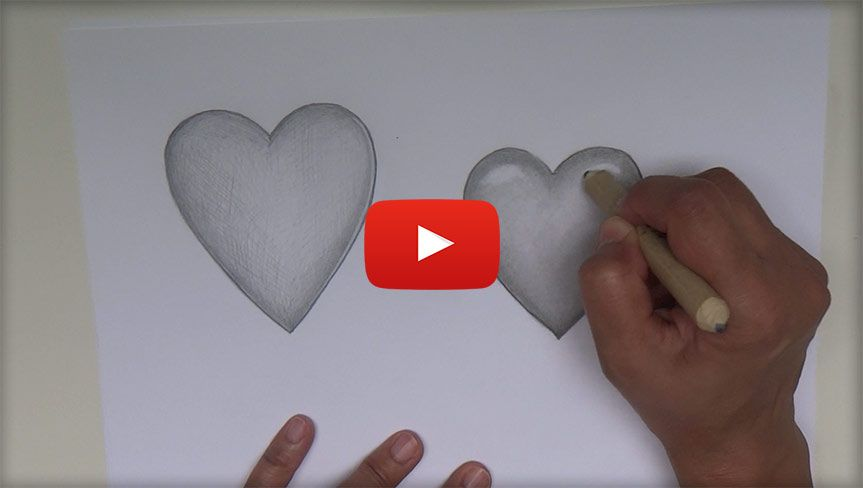Comment dessiner un coeur apprendre a dessiner - Comment dessiner un coeur ...