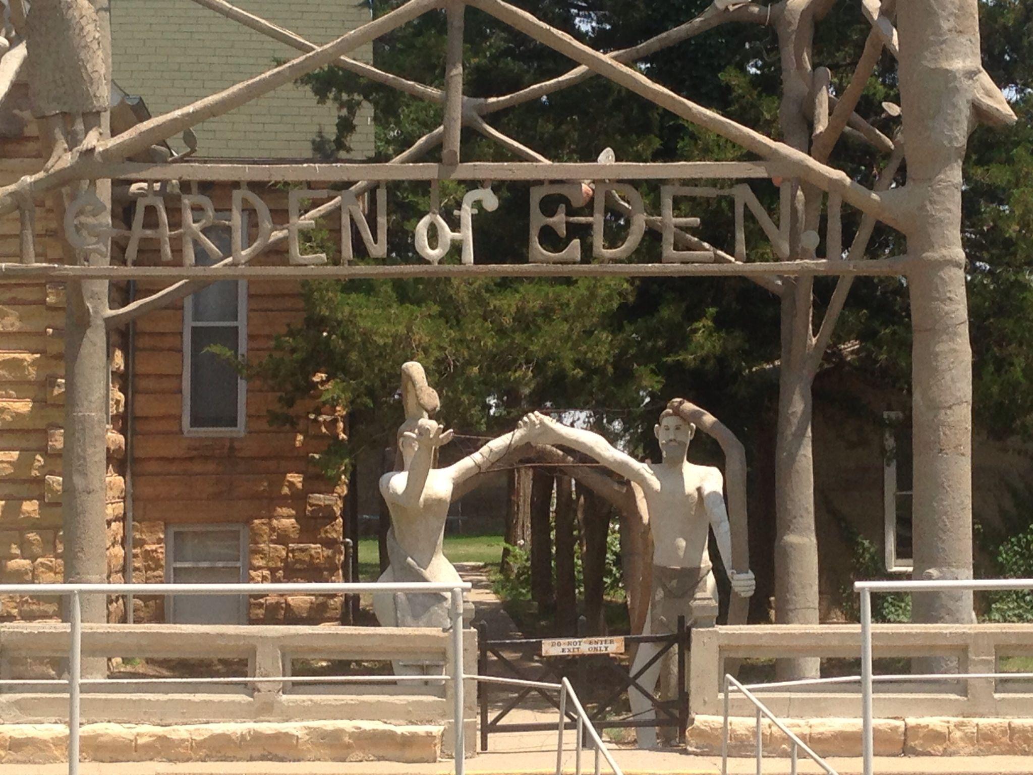 Garden of Eden Lucas, KS   Kansas   Pinterest   Kansas