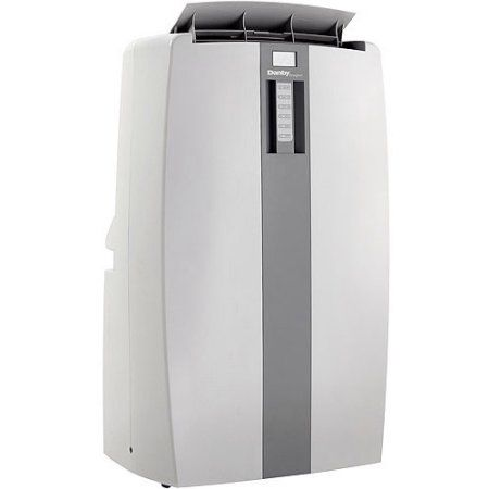 Danby Dpa100a1gd 10 000 Btu Room Portable Air Conditioner Gray Dehumidifiers
