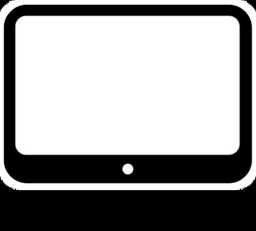 Small Computer Monitor Vector Clip Art Public Domain Vectors Small Computer Clip Art Computer Monitor
