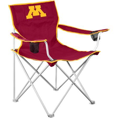 Logo Chair Ncaa Minnesota Deluxe Chair Red Folding