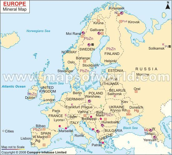 Map Of Germany Natural Resources.Europe Mineral Map World Maps Energy Resources Map Oil Gas