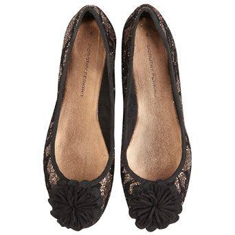 Bronze glitter lace pumps