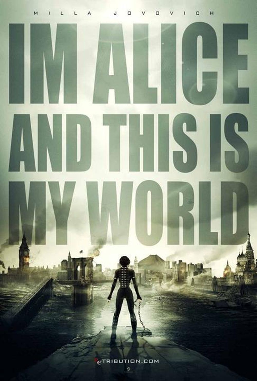 """I'm Alice and this is my world."""
